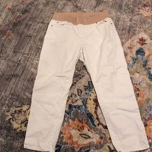Gap Maternity - Always Skinny white jeans
